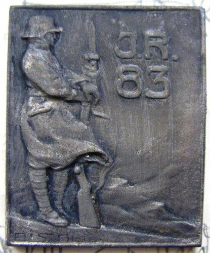 83. gyalogezred kürt embléma