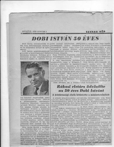 Dobi István ötven éves