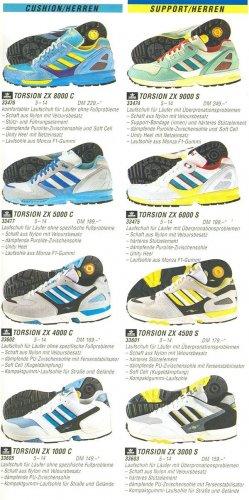 Adidas Torsion Zx reklám 1990