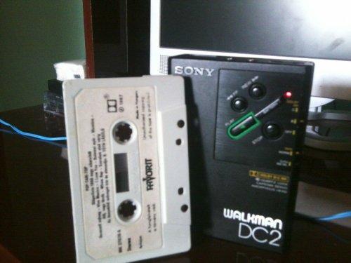Sony walkman  WM DC 2