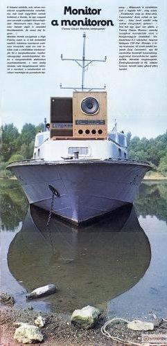 1982/3-as Hifi Magazin Poszter (Tannoy Classic Monitor)