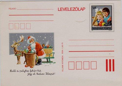 Karácsonyi levelezőlap
