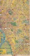 BSZKRT térkép pesti oldal déli része, Pesterzsébettel, Kispesttel