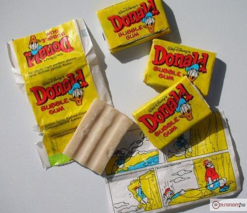 Donald rágógumi