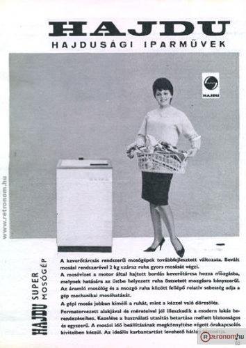 Hajdu Super mosógép
