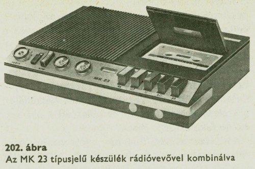 BRG MK-23 rádióval
