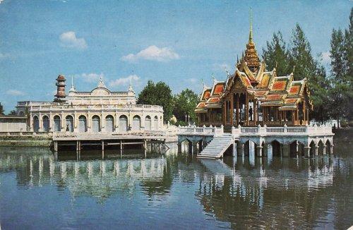 Ayudhya nyári királyi palota